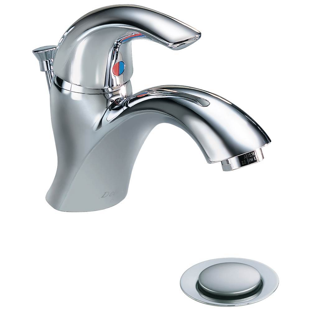 fvs single bathroom visio vessel lever in delta kraus kraususa faucet chrome handle com hole