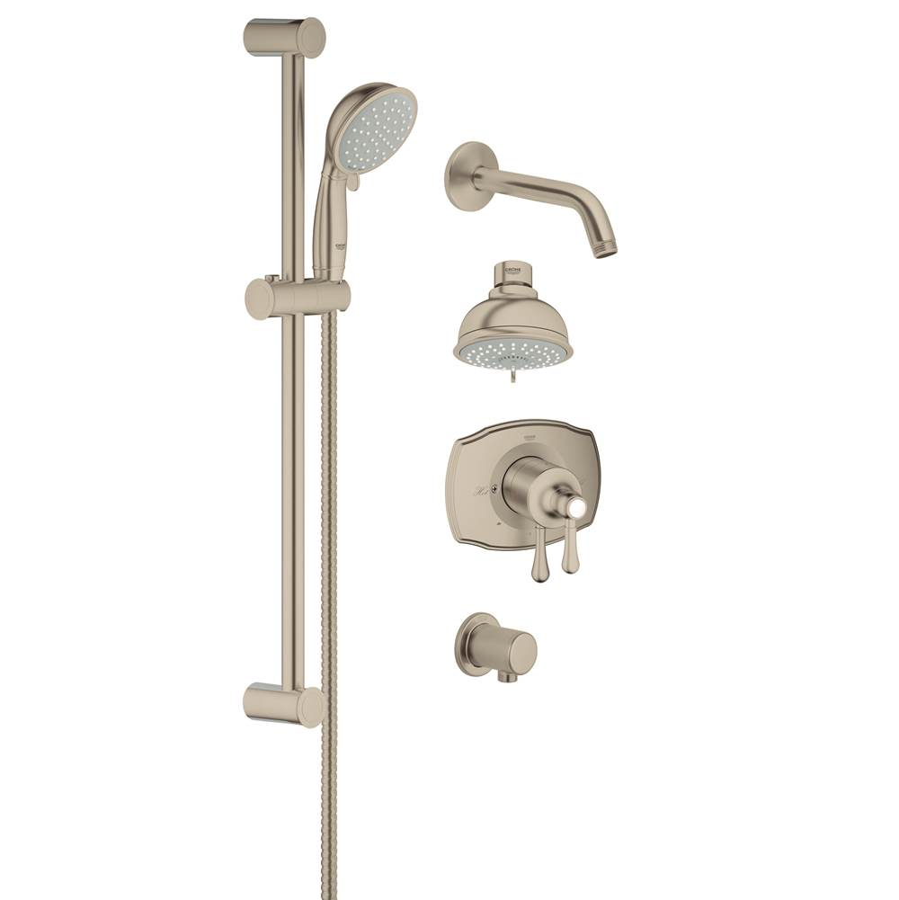 grohe 35053en0 at bay state plumbing heating supply serving the springfield ma area none. Black Bedroom Furniture Sets. Home Design Ideas