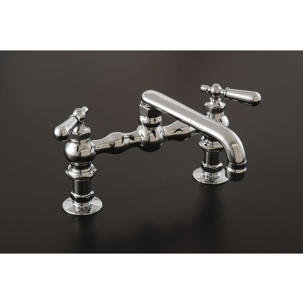 Faucets Kitchen Faucets Bridge Chromes   Bay State Plumbing ...